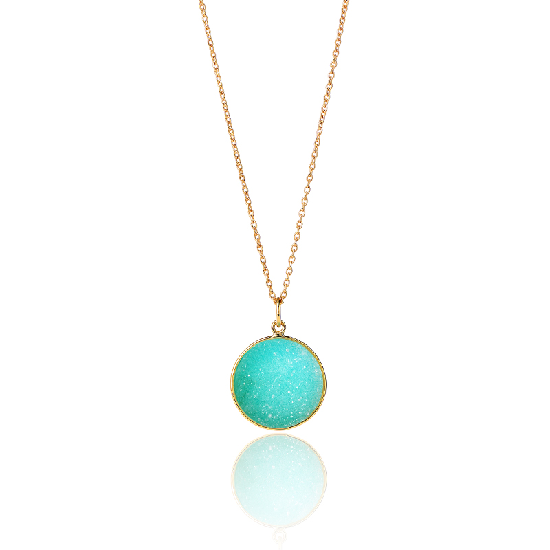 collier druzy