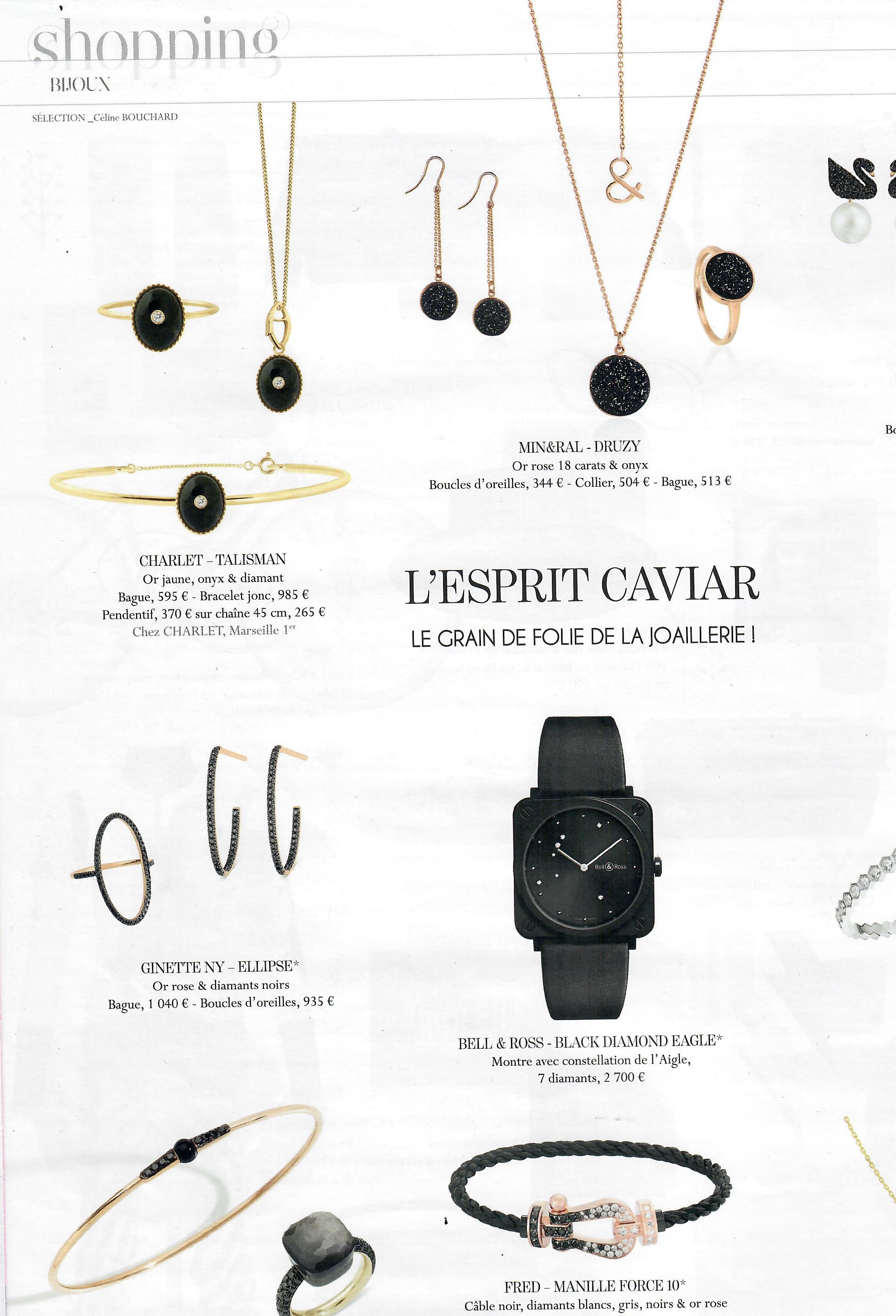 Article shopping bijoux
