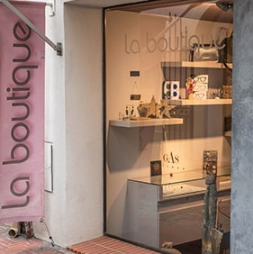 Devanture La Boutique - Sanary sur Mer
