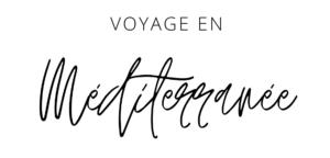 Voyage en Méditerranée mineral