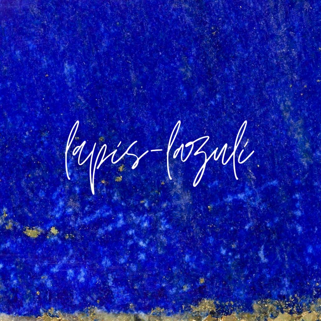 bijoux lapis-lazuli