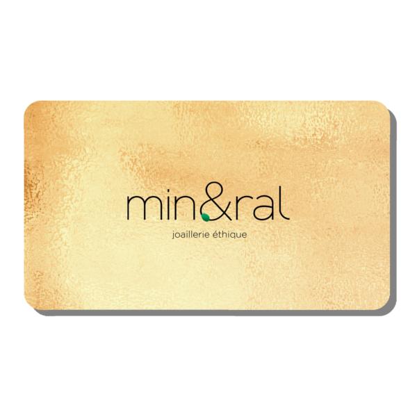 e-carte cadeau mineral joaillerie