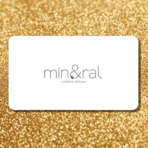 carte cadeau bijoux mineral joaillerie