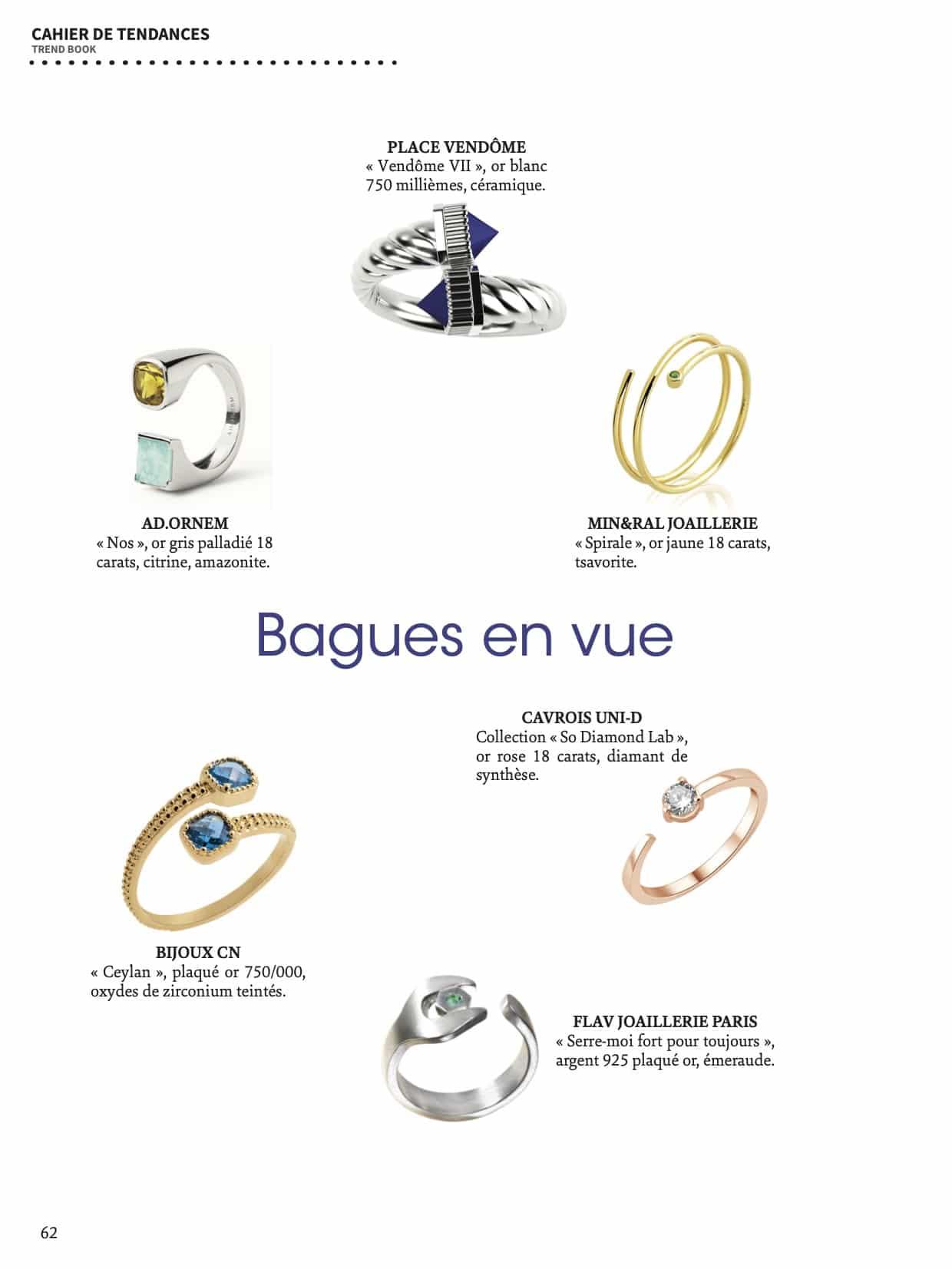 BAGUES EN VUE_LE BIJOUTIER - mineral joaillerie