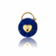 médaille cadenas lapis lazuli diamant