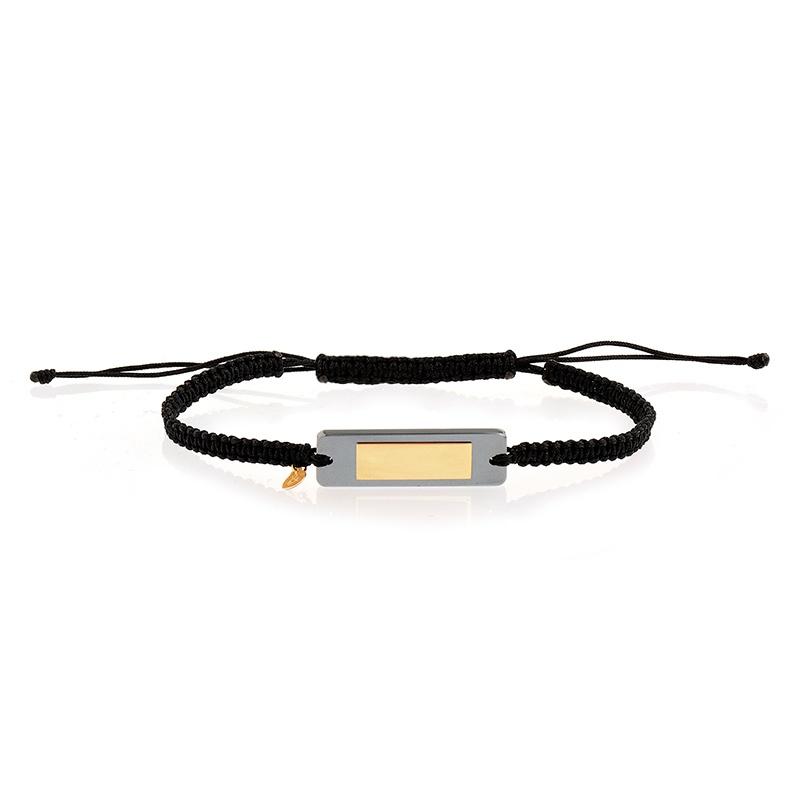 bracelet Gaspard hématite