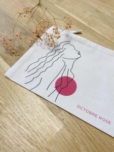 Pochette octobre rose mineral joaillerie